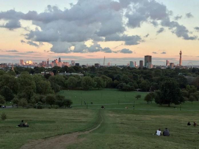 primrose hill londra panorama