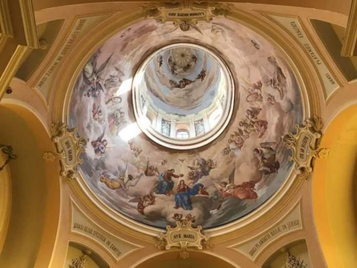 affreschi santuario