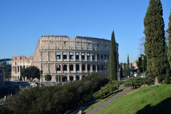 parco colle oppio colosseo