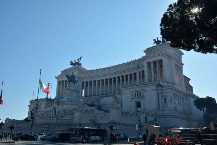 piazza venezia vittoriano