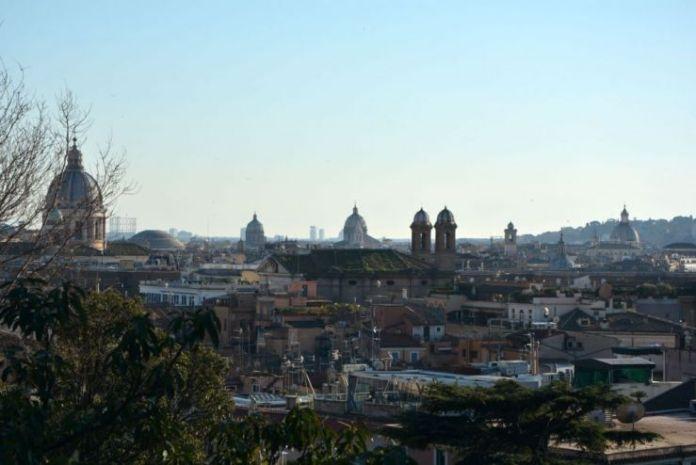 pincio roma panorama