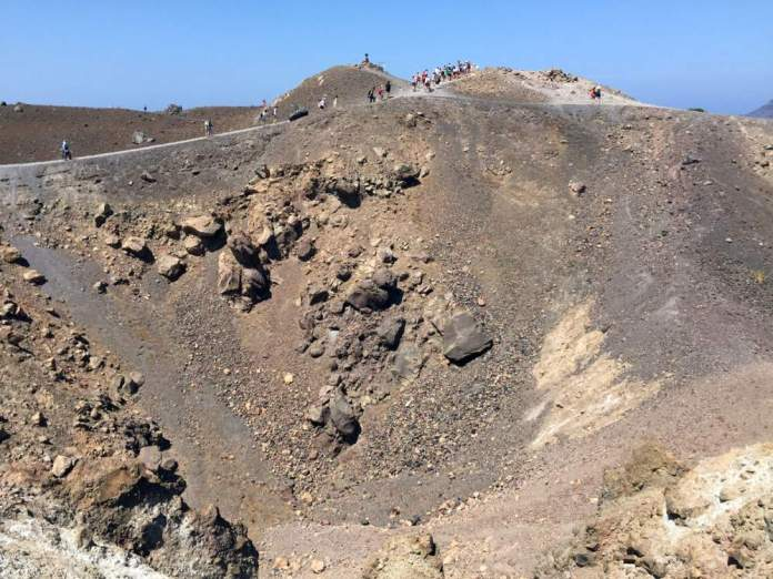 santorini gita crateri