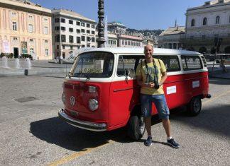 visitare genova volkswagen t2