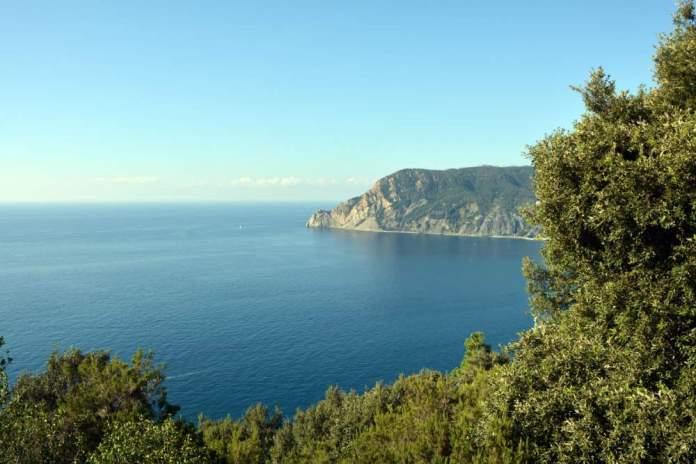 mar ligure sentiero azzurro