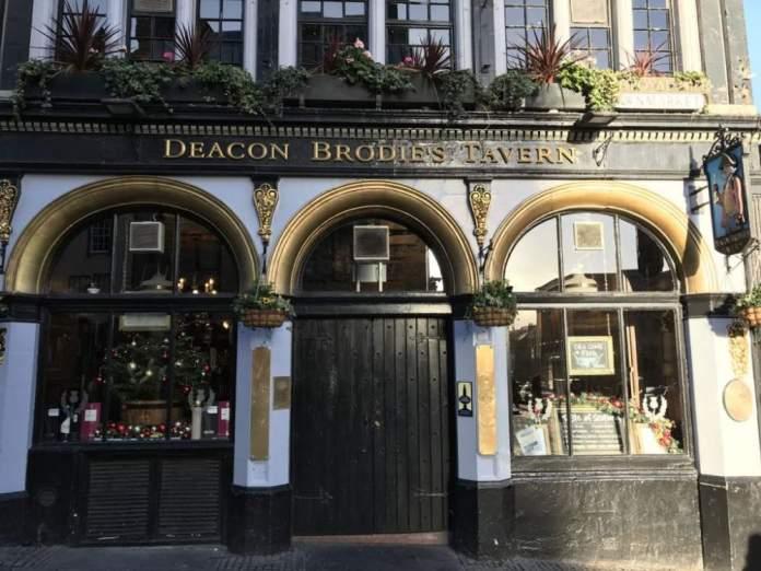 deacon brodies taverna pub