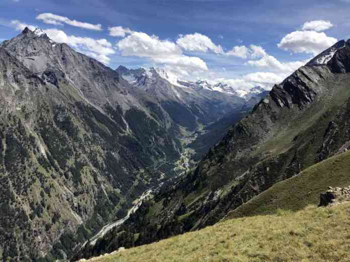 vista panorama valsavarenche