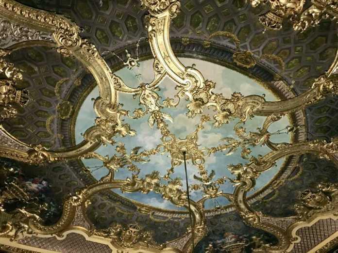 affreschi castello moncalieri