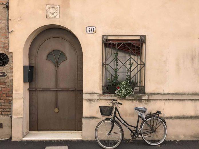 bicicletta porta