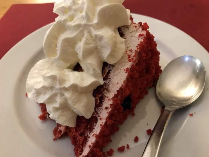 red velvet dessert