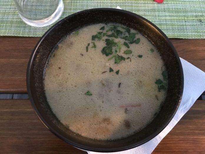 zuppa mangiare