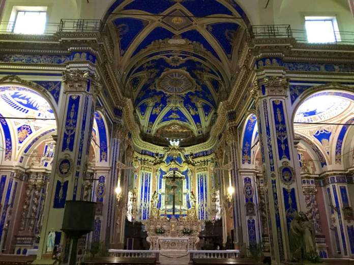 chiesa blu dolcedo
