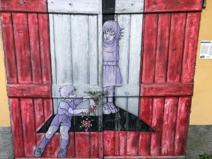 valloria porte dipinte