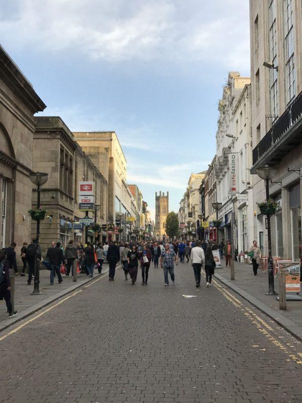 bold street negozi strada