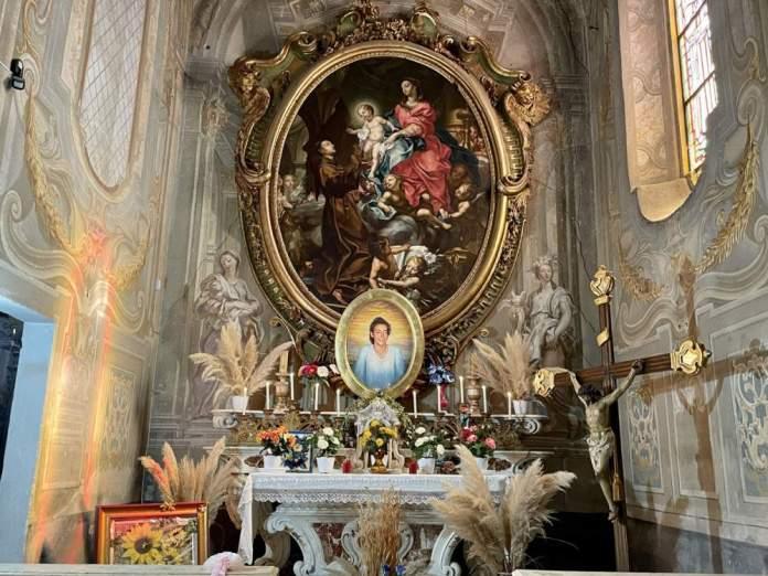 chiara luce badano altare