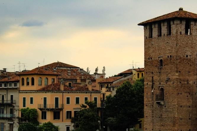 Palazzo Canossa dal Ponte di Castelvecchio