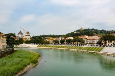 L'Adige visto da Ponte Pietra