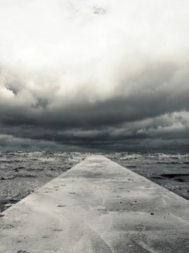 Transition to the unknown. (Baltic sea, Denmark)