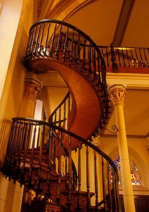 Many Of You Are Aware Of The Famous Staircase At The Loretto Chapel In Santa  Fe, New Mexico. As The Story Goes, A Group Of Nuns Discovered A Serious  Flaw In ...