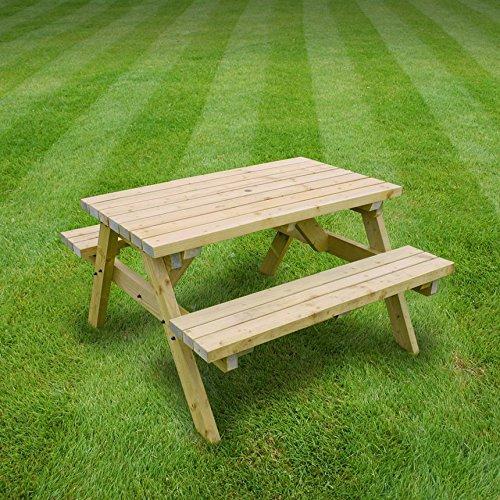 Oakham Picnic Table Pub Style Bench 4ft Heavy Duty