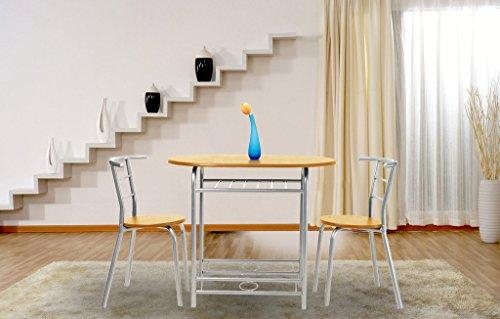 coavas table s manger pour 2 personnes de table de cuisine avec 2 chaises dssfinir une table ovale ds25090