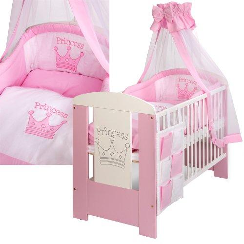 lit bebe princess 120 60 gravee avec l