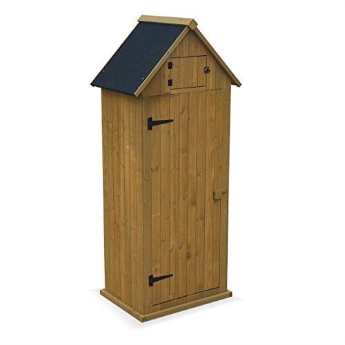alice s garden petit abri de jardin andelys coloris bois naturel abri de jardin en bois panneaux pre montes livre avec plancher cabane en