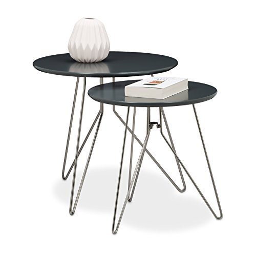 relaxdays table console table dappoint canap table basse