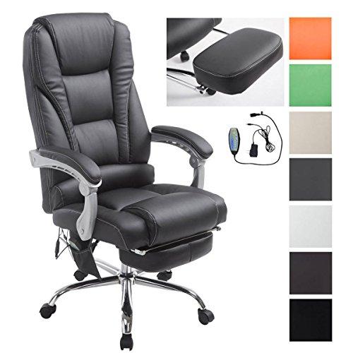 clp fauteuil de bureau pacific avec fonction massage poids admis 150 kg siege de relaxation avec