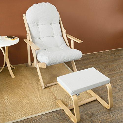 sobuy fst28 fst31 w w fauteuil relax detente confortable pliable dossier inclinable en 3 positions