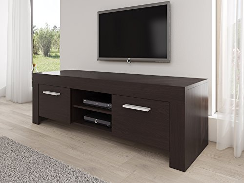 meuble tv armoire support rome wenge 160 cm