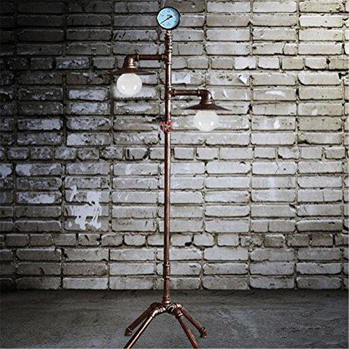 frelt lampadaire lampe de plancher industrielle de salon de fer retro vintage d apprentissage