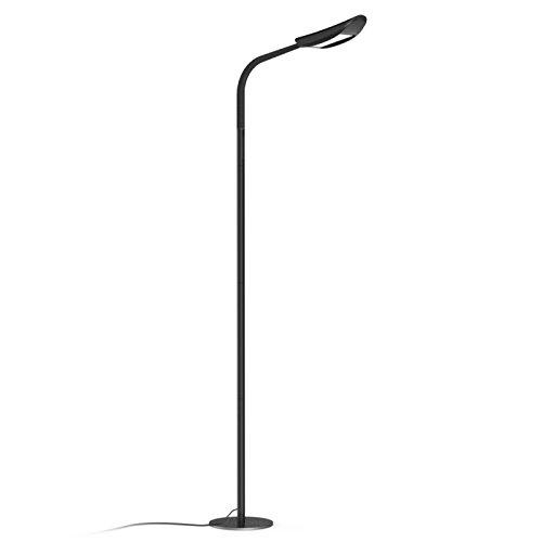 avantica lampe sur pied led avec variateur 13w 71inch 5 temperatures de couleur 3000k 6000k et 5 niveaux de luminosite 1600 lumens controle