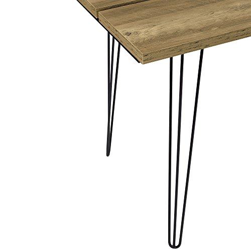 encasa encasa table manger design avec pieds dpingle