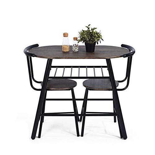furniture r france ensemble de table a manger comprenant 1 table et 2 tabourets gain de place pour 2 personnes compact mobilier de bar a la maison