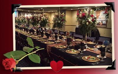 First Class Valentines Dinner