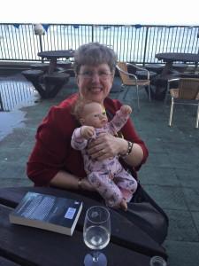 Susan Boulton with Baby