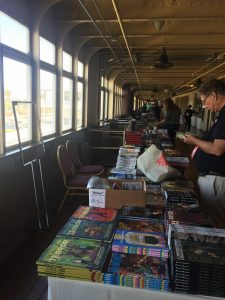 Mysterious Galaxy bookstore at Stokercon