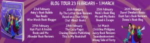 Blog tour banner for A Spell in the Country