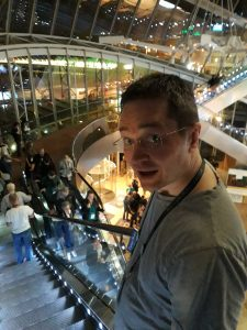 Justin Lee Anderson at Worldcon