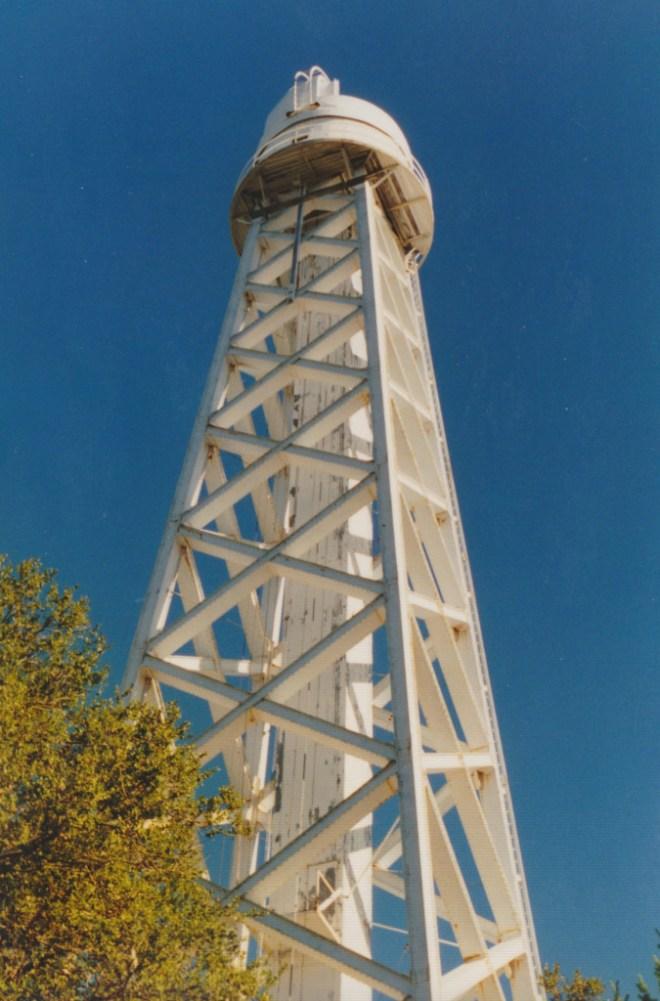 Mt. Wilson 150-foot Solar Tower. Photo: Gregory Pijanowski