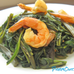 Water Spinach with Shrimp Paste