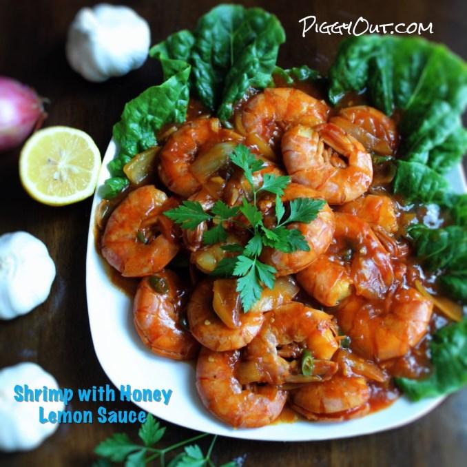 Udang Lemon Madu Shrimp With Honey Lemon Sauce Piggy Out