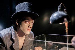 """Foto di scena di Luca Sorbo per lo spettacolo """"Mangiafuoco"""" di Officina Teatro (1600 ASA f:1,4 1/50 sec.)."""