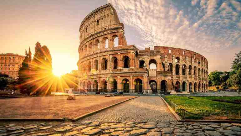 Why is the Colosseum broken