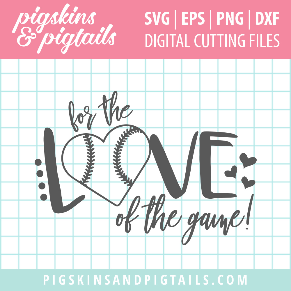 Download Softball / Baseball - For the Love of the Game | Pigskins ...