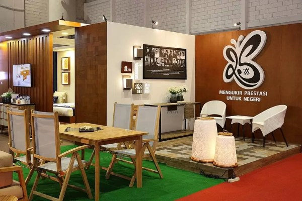 Piguno furniture event hospitality Indonesia 2019