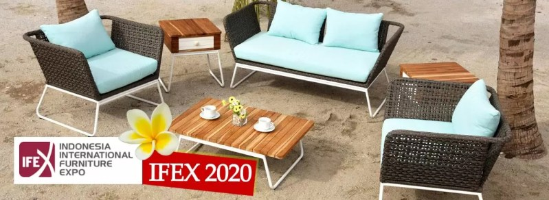Ifex 2020 Indonesia, Indonesia international Furniture Expo, Ifex 2020