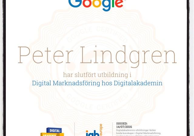 certifikat digital marknadsföring