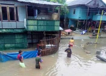 Banjir di Lumpue