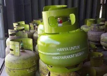 Operasi Pasar Siapkan 500 Tabung Elpiji 3 Kg